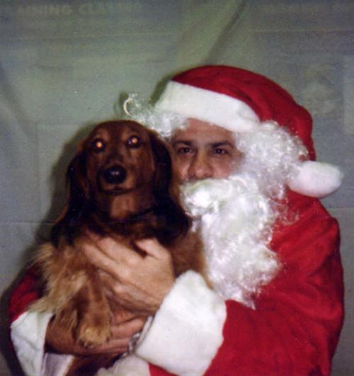 Mac Visits Santa